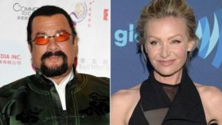 Steven Seagal and di woman wey dey accuse am