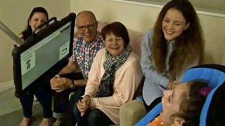 Miya Thirlby and her family