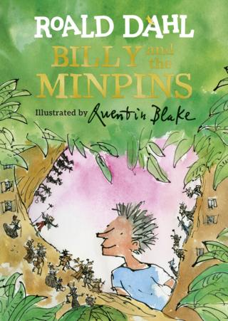 Billy and the Minpins cover by Sir Quentin Blake