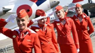 俄羅斯國際航空公司的空姐