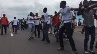 RDC, opposition, manifestation