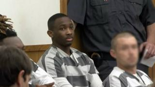 Lakeith Smith at his sentencing