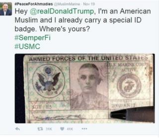 marine tweet