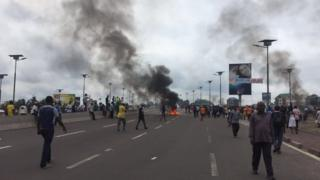 RDC, manifestation