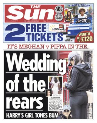 The Sun front - 20/05/17