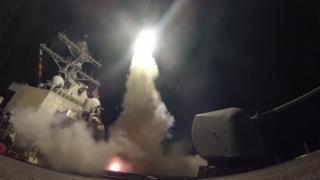 مدمرة أمريكية أطلقت منها الصواريخ