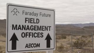 Faraday Future's contractor, AECOM, stopped work on the factory last October