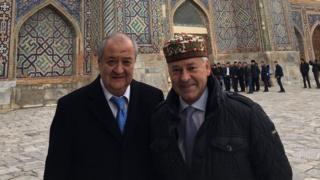 Alan Dankan va Abdulaziz Komilov