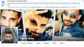 Fotos de Rajesh Maru no Facebook