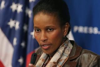 Controversial author Ayaan Hirsi Ali