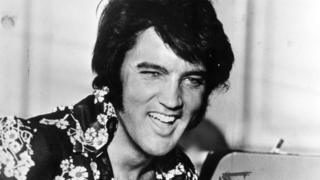 Elvis Presley in 1975