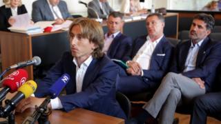 Luka Modric est visé par une enquête pour témoignage au procès de Zdravko Mamic, soupçonné de corruption.