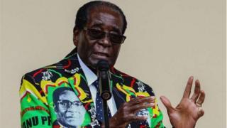 Robert Mugabe, madaxweynaha Zimbabwe