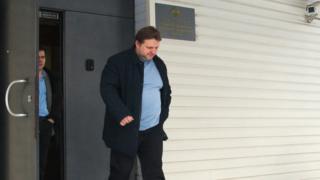 Губернатор Кировской области Никита Белых после допроса