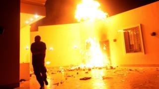 Dem attack US compound for Benghazi for 11 September 2012