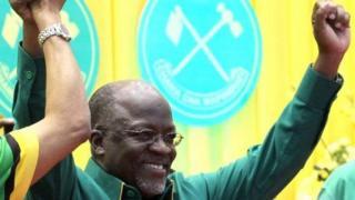 Perezida John Magufuli wa Tanzaniya