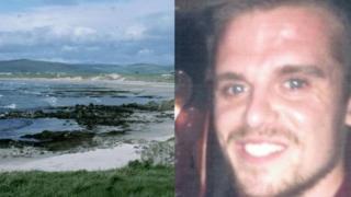 Matthew Bryce and Machrihanish beach