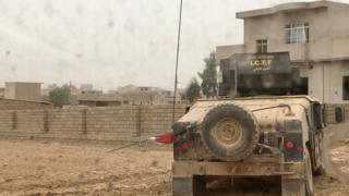 Ciidammada Ciraaq ayaa gaaray afaafka Mosul