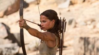 Alicia Vikander in Tomb Raider