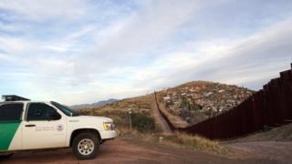 Граница между Мексикой и США