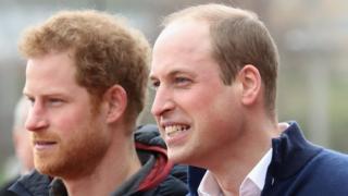 принц Гаррі, принц Вільям