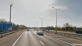 The M4 in Hayes