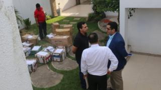 انتقال اسناد از دفتر شرکت لامیا در بولیوی
