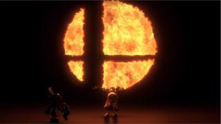 A still from the Super Smash Bros trailer
