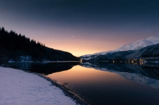 Sunrise at Loch Lubnaig