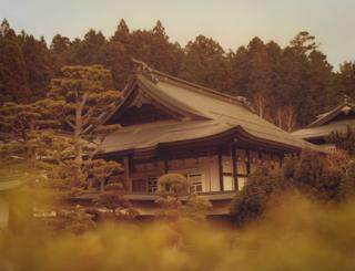 A traditional Japanese building