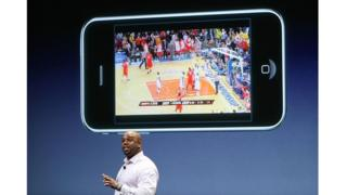 ESPN en un iPhone