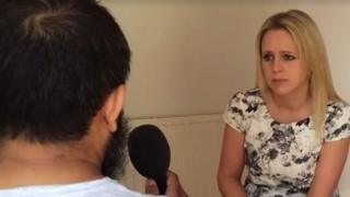 Victim talking to BBC Radio Leeds