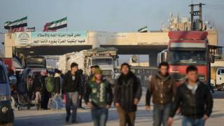 Turkish-Syrian border crossing (file photo)