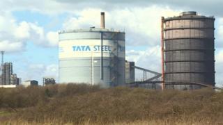 Tata's Port Talbot plant