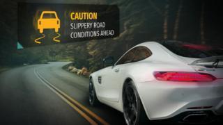 car and hazard