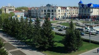 центр Томска