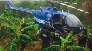 Helicóptero CICPC