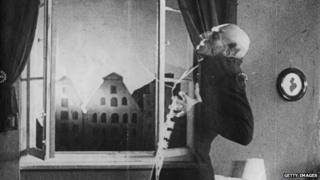 Max Shreck as Count Orlok in Nosferatu