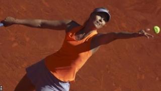 Maria Sharapova yari yarahagaritswe kubera gufata imiti itemewe.