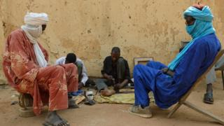 Tuareg men in Mali. Archive photo