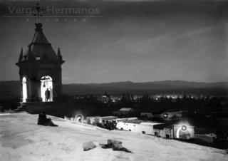 Torre de Cayma (Foto: Jaime Laso, representante del archivo fotográfico Vargas Hermanos).