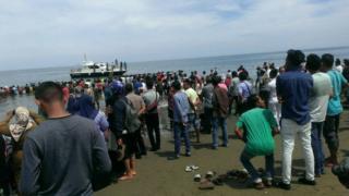 paus terdampar di Aceh