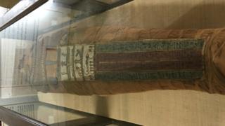 restored mummy