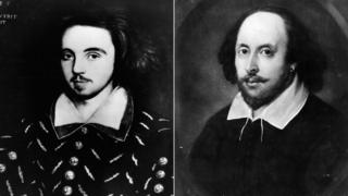 Christopher Marlowe y William Shakespeare