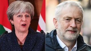 Theresa May, Jeremy Corbyn