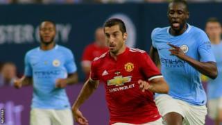 Henrikh Mkhitaryan of Manchester United