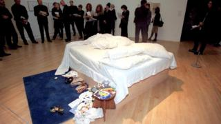 Tracey Emin's unmade bed