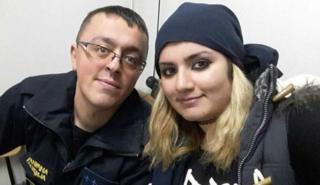 Прикордонник з Македонії та біженка з Іраку - кохання з першого погляду