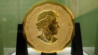 Монета в Берлине