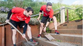 GoodGym participants in Sheffield